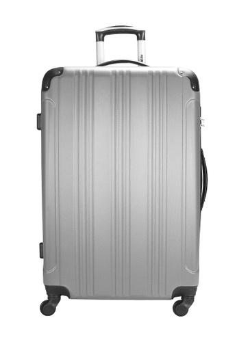 Urbanlite silver Urbanlite Echo 28 inch Spinner Hard Case Luggage -  SILVER DFC0DAC2A8C7E5GS_1