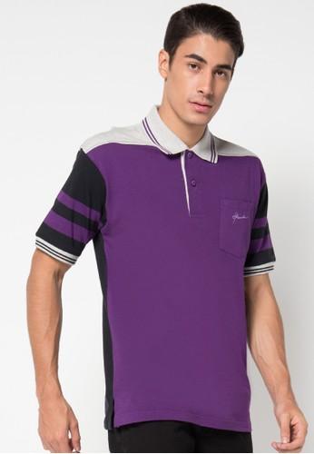 Hassenda purple Short Sleeve HA130AA59IXKID_1