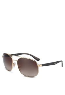 0d4a70e93c Ray-Ban RB3593 Sunglasses 83EC6GL517986BGS 1