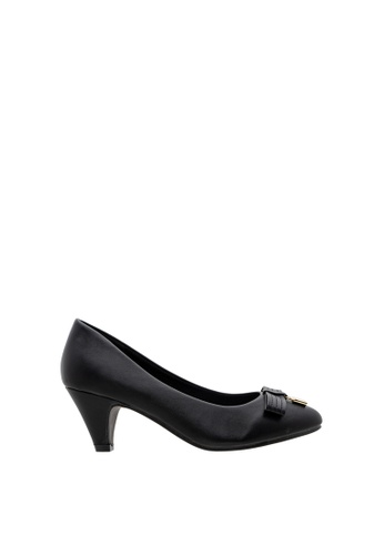 SEMBONIA black Women Synthetic Leather Court Shoe 342CDSHE945243GS_1