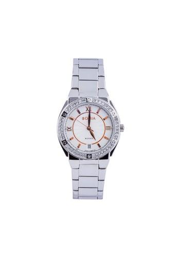 BONIA silver Bonia Rosso BR128-2313S - Jam Tangan Wanita - Silver 97044ACFDACB6DGS_1