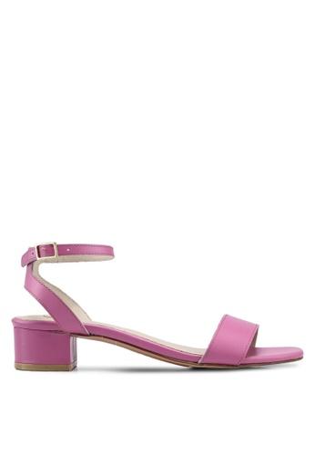 Carlton London pink Strappy Sandals 9E677SHB448344GS_1