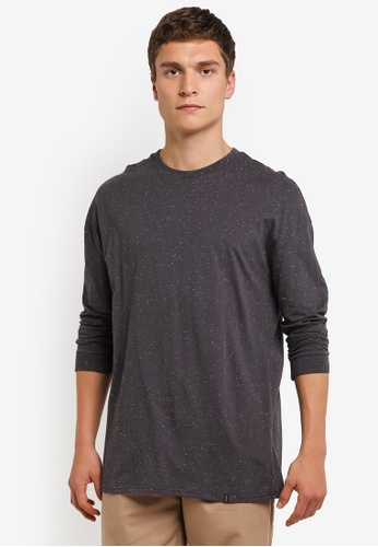 Factorie grey Long Sleeve Free Fall Tee FA880AA0RPKBMY_1