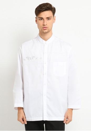 Arafah white Baju Koko 17 24E39AA6B180D4GS_1