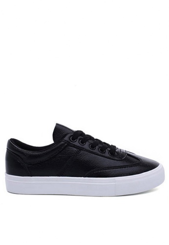 Twenty Eight Shoes black Soft Synthetic leather sneaker 4 TW446SH31WPSHK_1
