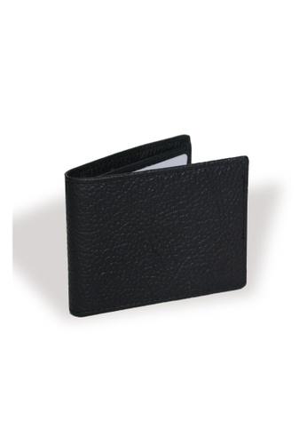 EXTREME black Extreme Genuine Leather Fengshui Wallet Multi Card Slot Slim Black 20BC6ACC53F59CGS_1
