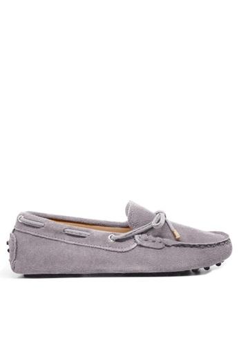 Twenty Eight Shoes 灰色 女裝真猄皮豆豆鞋M99 C0A6ESH0800ABAGS_1