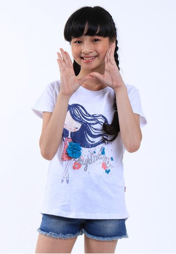 EXIT GIRL white Maribel Shirt DB1F3KACF50B62GS_1
