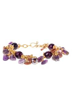Twisted Chain Charm Bracelet