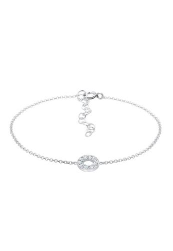 ELLI GERMANY silver Bracelet Circle Geo Basic Crystals 0A422AC5C9A336GS_1