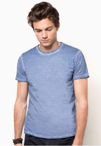 船型領水洗TEE,esprit台灣outlet 服飾, T恤