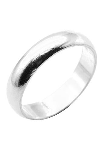 Elfi silver Elfi 925 Genuine Silver Engagement Ring R47 - The Classic 2 7A1E9AC1CFC537GS_1