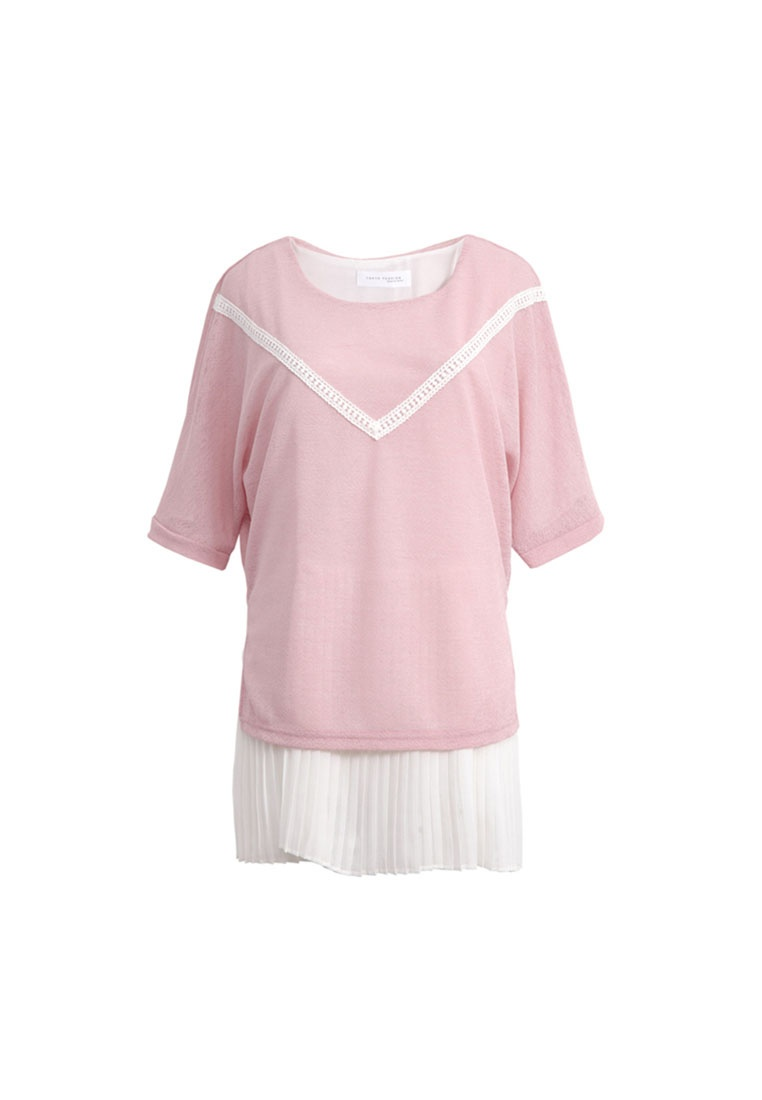 Hem Tokichoi With Special Top Pleated Pink qw4TIwZ
