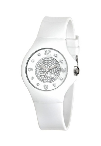 Morellato white Colours Quartz Watch R0151114502 Purple Rubber Strap 2C17FAC6341602GS_1