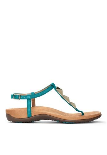 Vionic green Nala T-Strap Sandal 328E3SH0E596BEGS_1