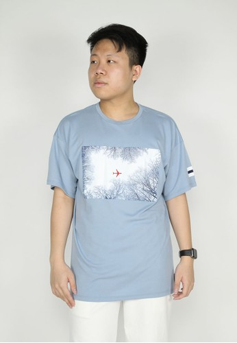 ETA blue Fly Away Tee D4B60AAA9757DBGS_1