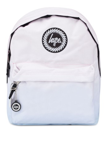 Just Hype pink and blue Fade Charm Backpack 40166ACA1E2C5DGS_1