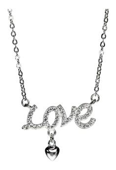 Kynda Love Letter K2781 Italy 925 Silver Necklace