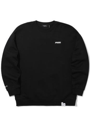 Fivecm black Logo zipper sweatshirt C4336AADA1F09FGS_1