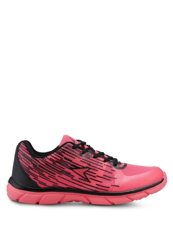 Power pink Athletic Walking Shoes E1601SHAC8724CGS_1