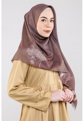 Mytsana brown Yara Scarf 9EC91AAF8337F3GS_1