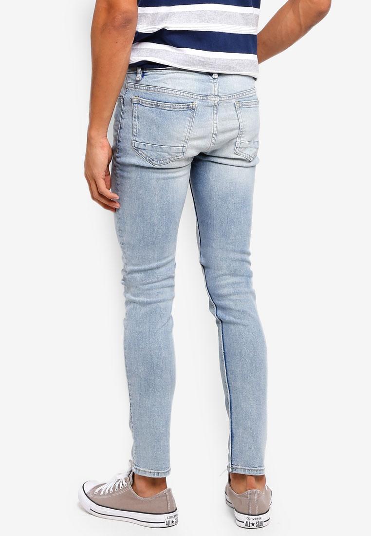 ebd9ca16d168 ... Wash Light Blue Jeans Man Fit Open Vintage Tim MANGO Slim tU7qC ...