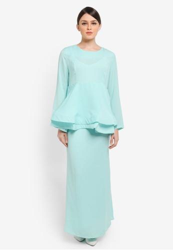 BYN green Muslimah Skirt BY059AA0SEAKMY_1