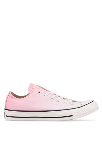 e4a5c250835c Converse pink Chuck Taylor All Star Ombre Wash Ox Sneakers  C8AD9SH611EE5AGS 1