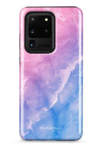 Polar Polar pink Sweet Rainbow Samsung Galaxy S20 Ultra 5G Dual-Layer Protective Phone Case (Glossy) 2DDADAC8BAC80DGS_1