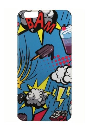 Mr Gugu & Miss Go multi Comics IPhone Case MR924AC40GILHK_1