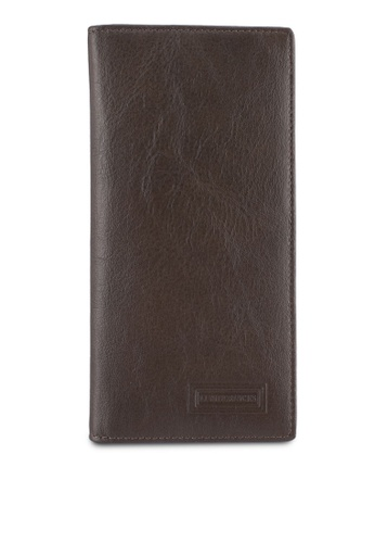 lumberjacks brown Lumberjacks Genuine Leather Bi-Fold Long Wallet LU545AC0SMDGMY_1