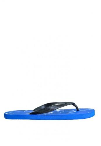 BENCH blue Rubber Slippers   BE550SH0KE4DPH_1