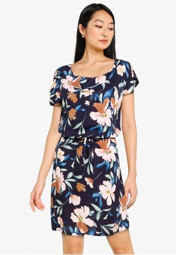 ONLY navy Nova Life Connie Bali Dress B2C0FAA8A4A4E1GS_1