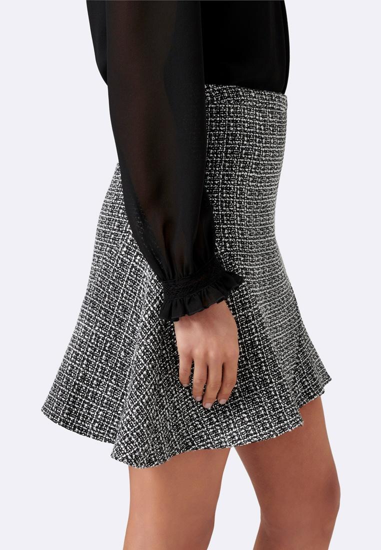 New White Black amp; Fit Skirt amp; Flare Mini Forever Katie dCq0xw6dz
