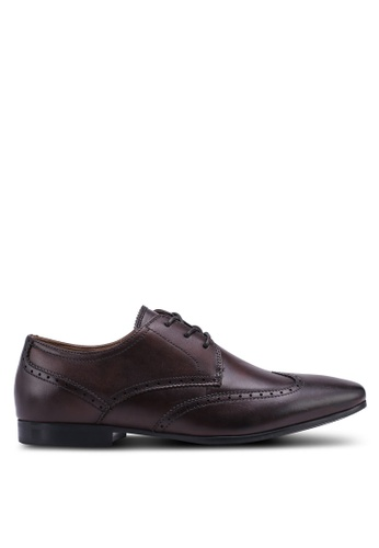 ALDO brown Caspar Dress Shoes 61F9ASH53ED05CGS_1