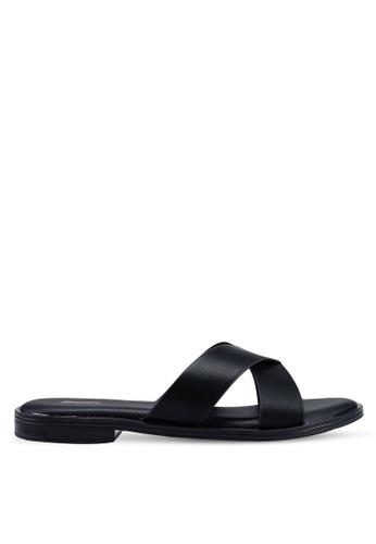 3c58771d1cdb Bata black Slip On Sandals 55873SHDE9CDBAGS 1