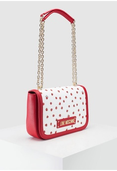 c9bfbc8093 21% OFF Love Moschino Ladybird Printed Saffiano Shoulder Bag S$ 339.00 NOW  S$ 269.00 Sizes One Size