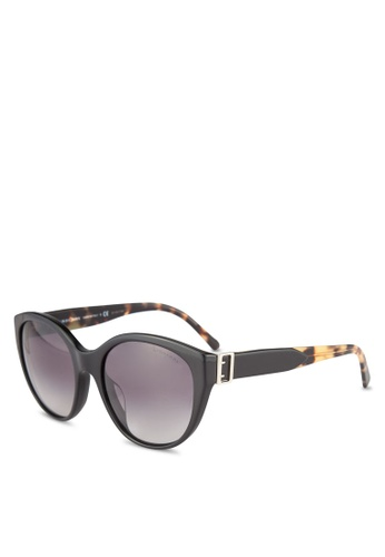 Burberry black Burberry Heritage BE4242F Sunglasses BU958GL0RORZMY_1