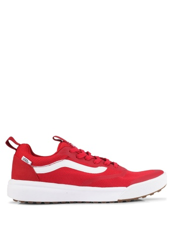 VANS white and red UltraRange Rapidweld Sneakers VA142SH0SWS4MY_1