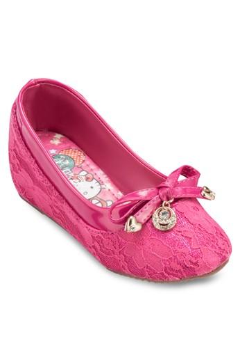 墜飾esprit台灣門市蝴蝶結楔型跟娃娃鞋, 鞋