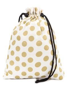 Polka Dot Shoe Bag