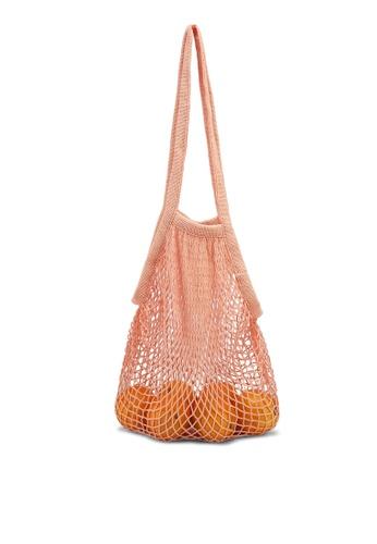 PINK N' PROPER 粉紅色 Blanca Net Bag 5154CAC3D2791BGS_1