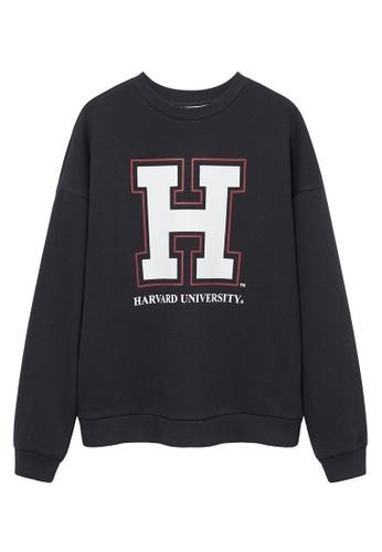 MANGO KIDS grey Harvard University Sweatshirt F7B62KA7EF1AC0GS_1