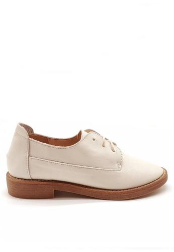 Twenty Eight Shoes 頭層牛皮綁帶鞋 VF23 DD96ASH8FA2307GS_1