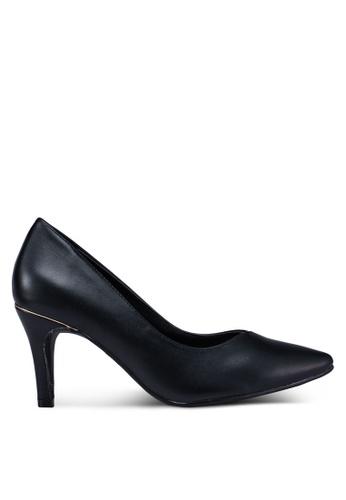 Bata 黑色 尖頭高跟鞋 3A69DSH0D0F22AGS_1