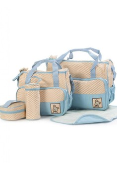 Multifunctional Maternity 5 in 1 Fashionable Nappy Tote Bag