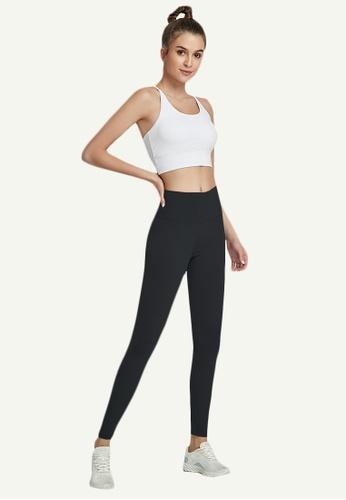B-Code black ZWG7006Lady Quick Drying Running Fitness Yoga Sports Leggings -Black 2E42CAAFA9277AGS_1