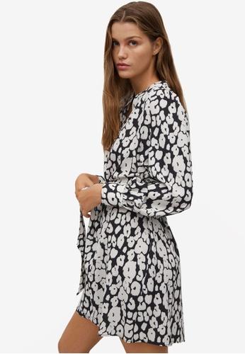 Mango white Belt Shirt Dress 90812AA4D37F33GS_1