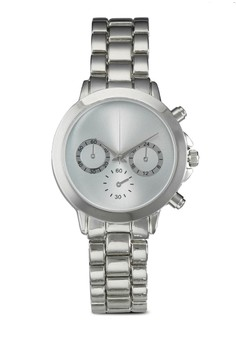 Clean Face Chain Watch