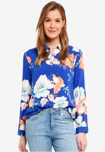 Cotton On blue Rebecca Shirt 566FFAA3DB7594GS_1